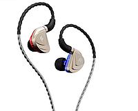 Наушники Fidue A83 Hi-End In-Ear Triple-Driver 10мм динамический + 2-е сбалансированные арматуры