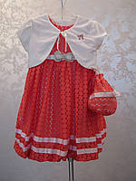 Нарядное платье с болеро и сумочкой Принцесса