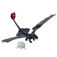 """Дракон Беззубик """"Ночная Фурия"""" из м/ф """"Как приручить дракона"""" DreamWorks Dragons Defenders of Berk"""