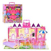 Домик Замок для кукол 3139 Doll Нouse с мебелью