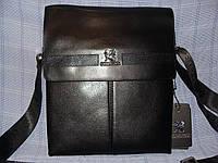 Мужская сумка Gorangd TP6682-3 черная искусственная кожа
