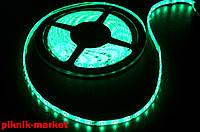 Светодиодная лента SMD 3528-60 зеленая