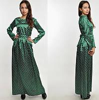Платье женское  в Пол атласное