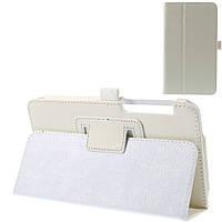 Чехол подставка Litchi Skin Leather для Asus Fonepad 7 FE375CXG белый