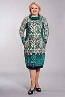 Эффектное женское платье с хомутом