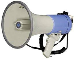 Мегафон, громкоговорители, рупор