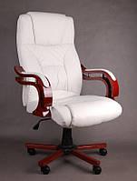 Офисное массажное кресло PRESIDENT белое