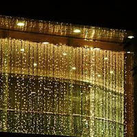 Curtain lights christmas