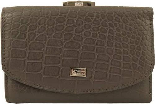 Женский стильный кошелек из натуральной кожи WANLIMA (ВАНЛИМА) W62043790473
