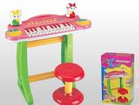 Пианино синтезатор детский со стульчиком