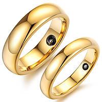 """Парные кольца """"Обручальные"""" из карбида вольфрама"""