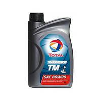 Трансмиссионные масла TOTAL TRANSMISSION TM 80W-90 1L