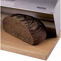 Хлебница VINZER 89150 стальная кришка