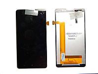 Дисплей для Lenovo P780 (с сенсорным экраном) Black