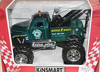 Машинка тягач  Kinsmart коллекционные металлические машинки