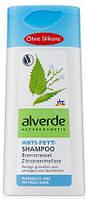 Шампунь Alverde Anti-Fett-Shampoo Brennnessel Zitronenmelisse для жирных волос кропива и мелиса 200м