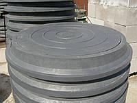 Люк полимерпесчаный нагрузка 8 т. в черном цвете