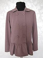 Пиджак для девочек трикотажный
