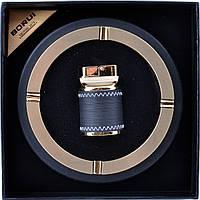 Подарочный набор Пепельница, зажигалка настольная 3615