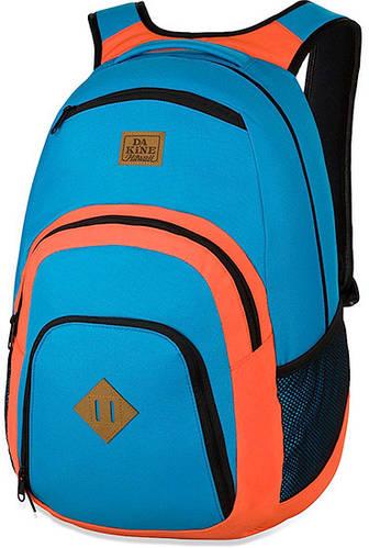 Функциональный мужской городской рюкзак Dakine Campus 33L Offshore 610934842968  синий