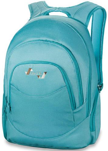 Красивый женский рюкзак для города Dakine Prom 25L Mineral Blue 610934861266 голубой