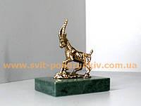 Бронзовая статуэтка Коза, ручная работа