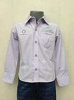 Рубашка нарядная для мальчиков