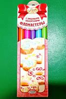 Фломастеры с пищевыми красителями (яркие цвета)(код 00235)
