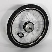 Мотор-колесо для установки на велосипед 24V250W редукторное 24 дюйма переднее