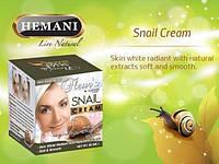Натуральный крем Hemani экстрактом улитки + мыло в подарок
