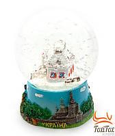 "Новогодний шар со снегом "" Украина """