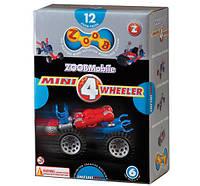 Конструктор ZoobMobile Mini 4-Wheeler 12 деталей и 4 колеса