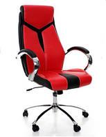 Офисное компьютерное кресло EKO 522H, механизм TILT, красное