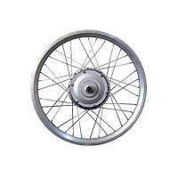 Мотор-колесо для установки на велосипед 36V350W редукторное 20 дюймов заднее