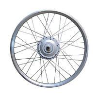 Мотор-колесо для установки на велосипед 36V350W редукторное 24 дюйма заднее