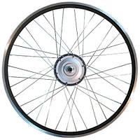 Мотор-колесо для установки на велосипед 36V350W редукторное 28 дюймов заднее