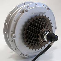 Мотор-колесо для установки на велосипед 48V600W редукторное заднее