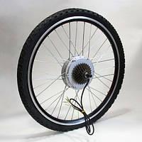 Мотор-колесо для установки на велосипед 48V600W редукторное 26 дюймов заднее