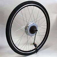 Мотор-колесо для установки на велосипед 48V600W редукторное 28 дюймов заднее