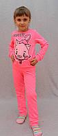 Костюм спортивный Китти розовый, фото 1