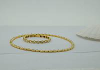 """Комплект : ожерелье и браслет """"Альмира"""" №84"""
