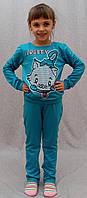 Костюм спортивный Китти голубой, фото 1
