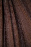 Портьерная ткань шенилл, цвет коричневый