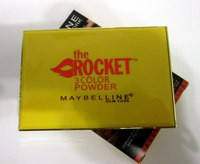Maybelline the rocket 3 в 1 color powder