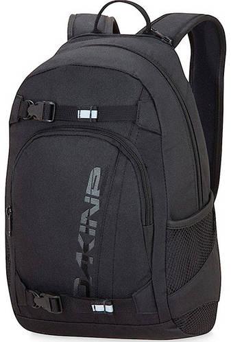 Функциональный мужской городской рюкзак Dakine Grom 13L Black 610934761450 черный