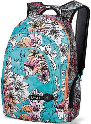 Женский городской рюкзак с принтом Dakine Prom 25L Rogue 610934829228 голубой