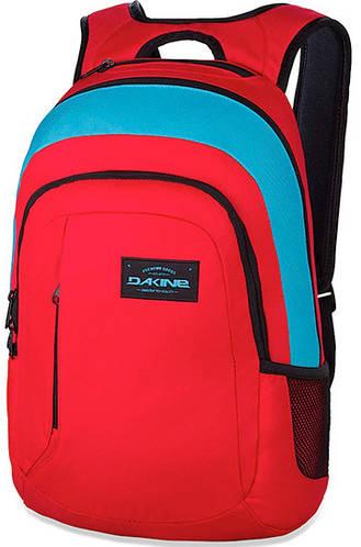 Стильный мужской городской рюкзак Dakine Factor 20L Threedee 610934843163 красный
