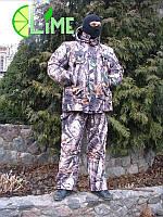 Костюм для охоты и рыбалки, Лес 3D желтый