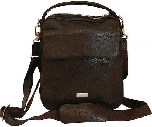 Кожаная молодежная сумка Vip Collection 1444B flat