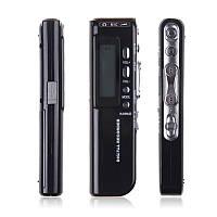 Цифровой диктофон digital voice recorder 8gb 650hr usb, телефонная запись, микрофон, наушники, питание 2*ааа
